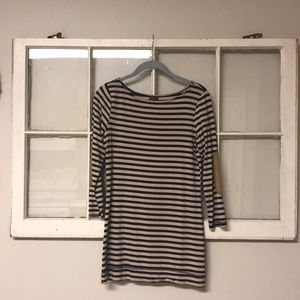 Striped top with elbow patches!